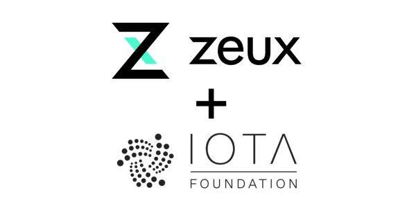 Aplicativo Zeux adiciona IOTA à lista de seus métodos de pagamento